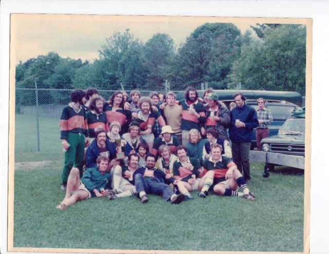 Charles River Rugby Team Photo 1973