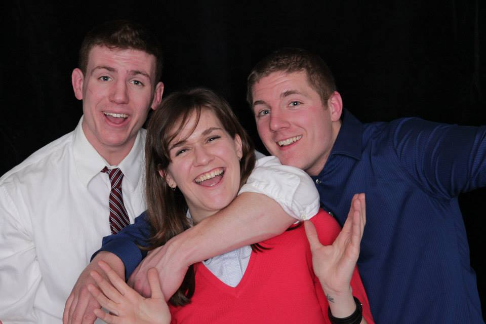Jehanne, Corey and Cassidy 2014 Banquet